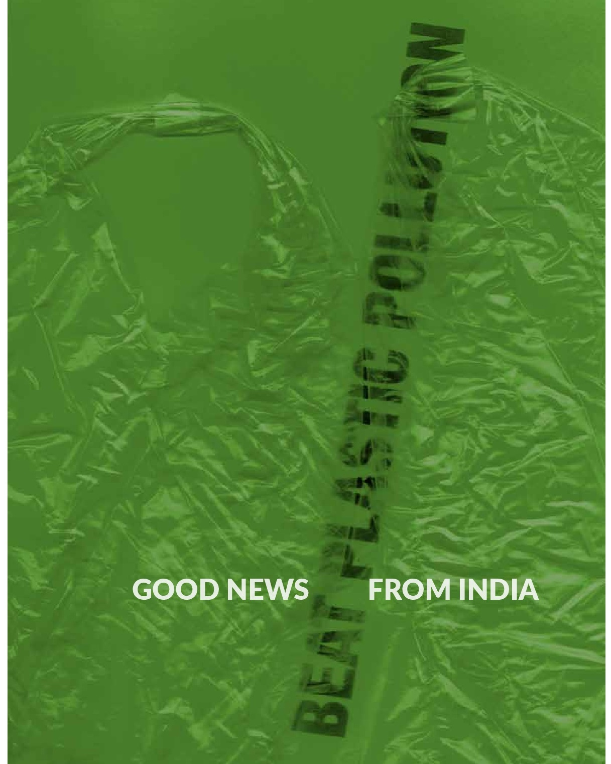 Image of cover of Beat Plastics Pollution- Good News from India