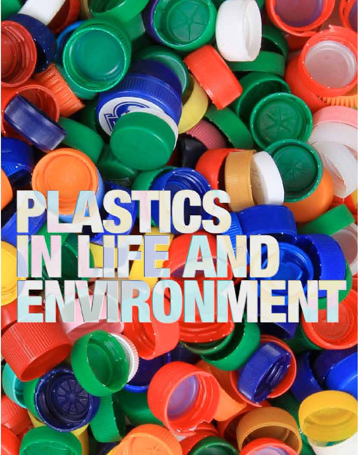 Image of cover of Plastics in life and Environment