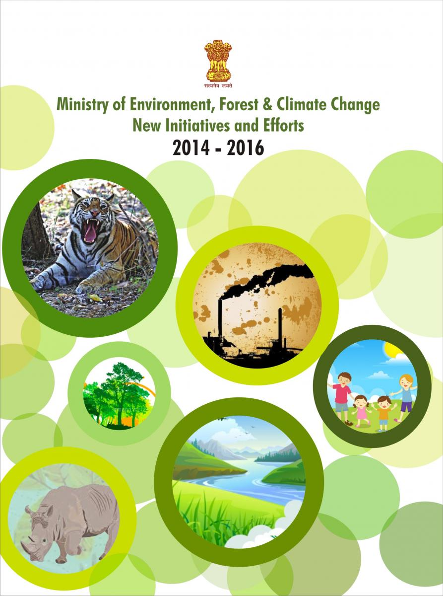 Image of cover of Booklet on New Initiatives and Efforts 2014-2016