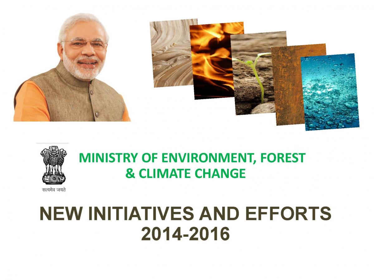 Image of cover of Ebook on New Initiatives and Efforts 2014-2016