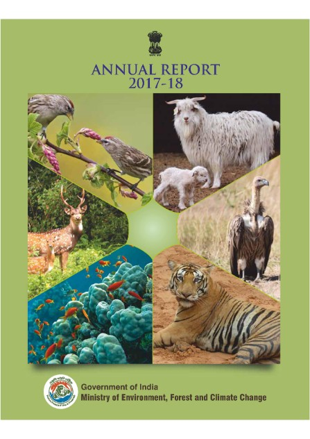 Image of cover of Annual Report 2017-2018