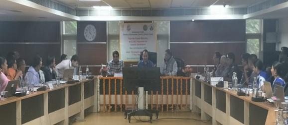Image of workshop on GLOBE programme for Ecoclub coordinators