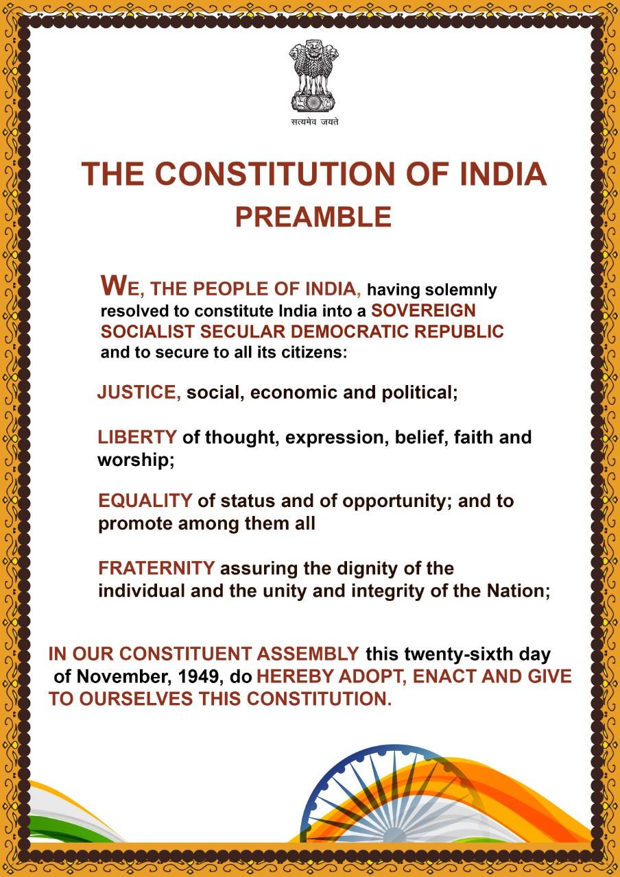1.Image of Constitution Day, 2020