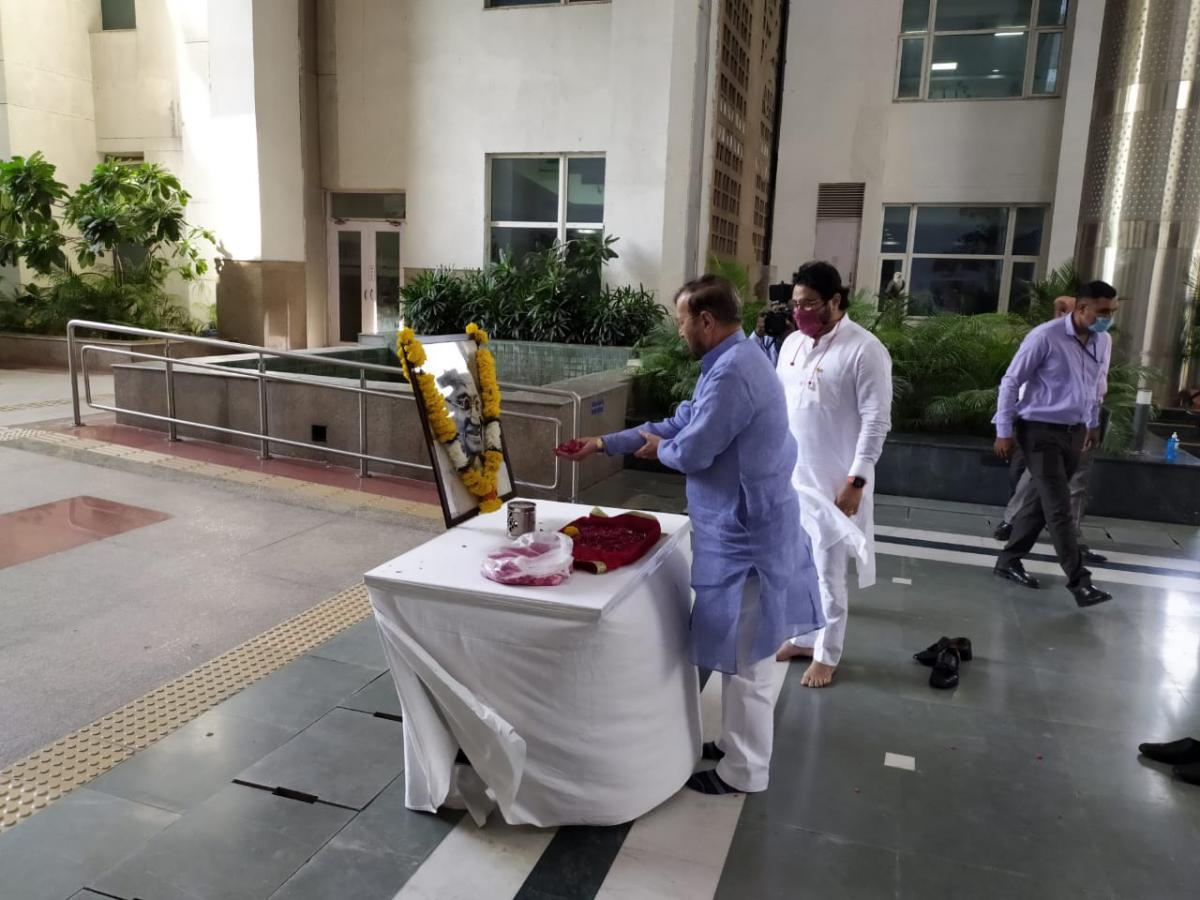 image of Celebrations of 150th birth anniversary of Mahatma Gandhi ji on 1st October 2020